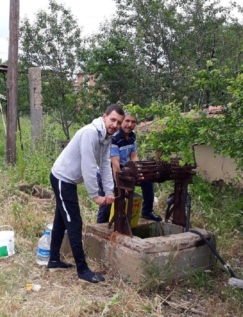 Lüleburgaz'daki 85 yıllık su kuyusu halen kullanılıyor
