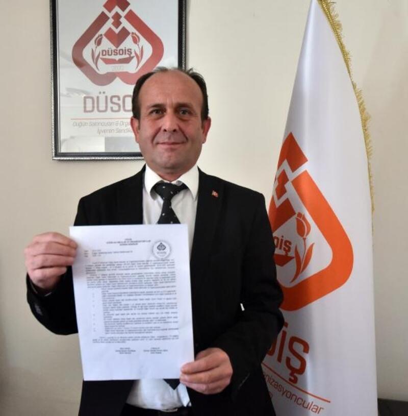 Düğün salonu işletmecilerinden Cumhurbaşkanı Erdoğan'a mektup