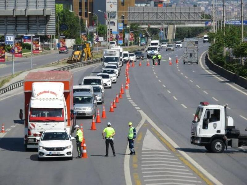 Kadıköy ve Maltepe'de trafikte denetim