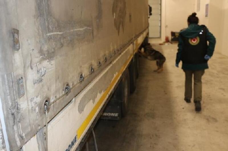 Hamzabeyli'de 30 kilo esrar ele geçirildi