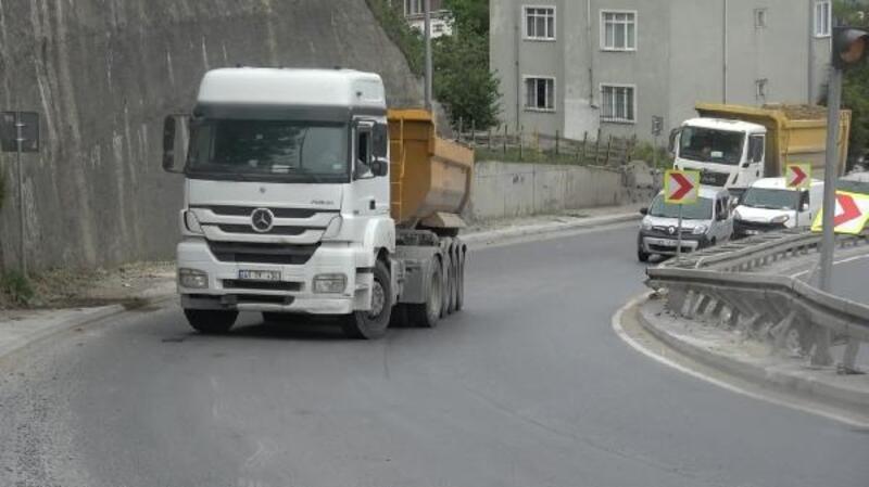 """Arnavutköy'de hafriyat kamyonlarının """"Karga sekmez"""" çilesi"""