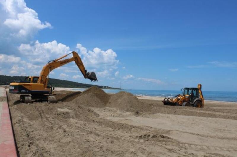 Kocaeli'nin 'mavi bayrak'lı plajları, sezona hazırlanıyor
