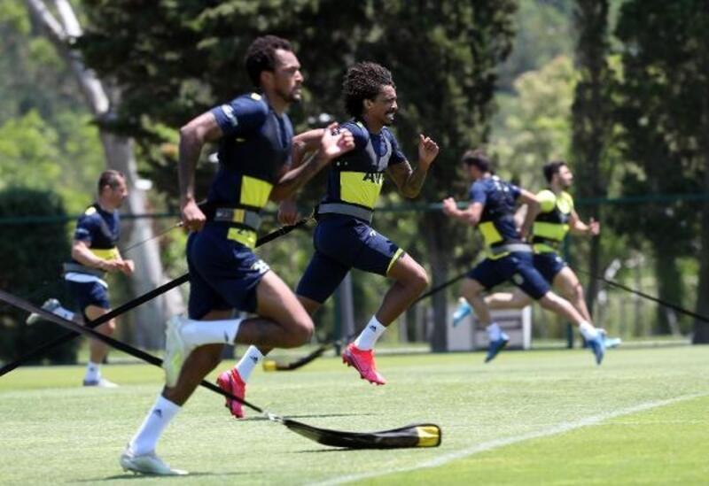 Fenerbahçe, Kayserispor maçı hazırlıklarına devam etti