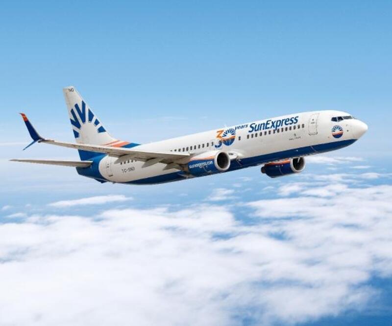 SunExpress, 4 Haziran'da iç hat uçuşlarına başlayacak