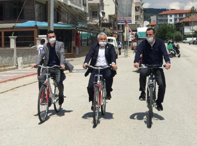 Milletvekili ve başkanlardan bisiklet turu
