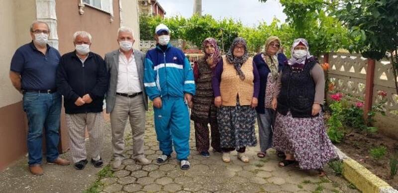 Babaeski'de sitelerini su basan vatandaşlar tepkili