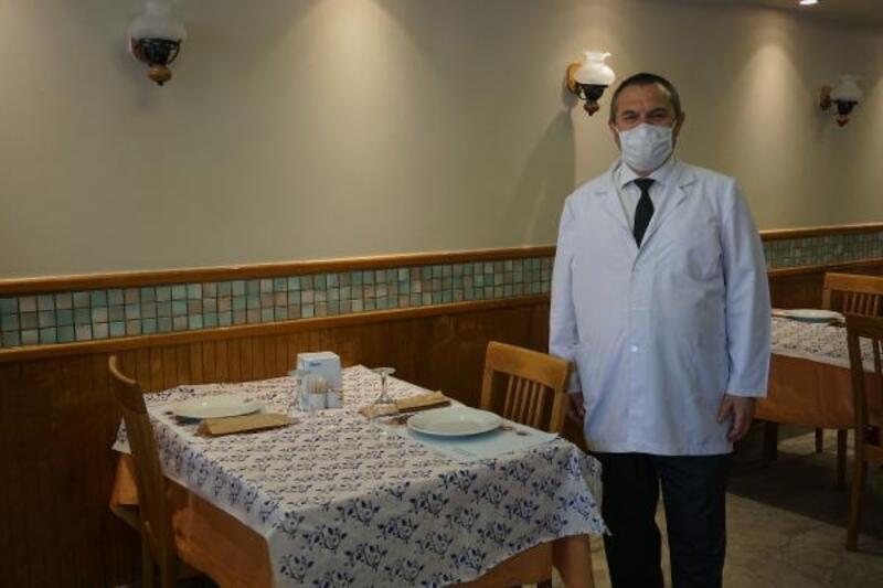 Taksim'deki restoranlarda 1 Haziran hazırlığı