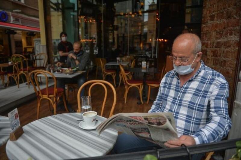 Taksim'de 'yeni normal'in ilk günü