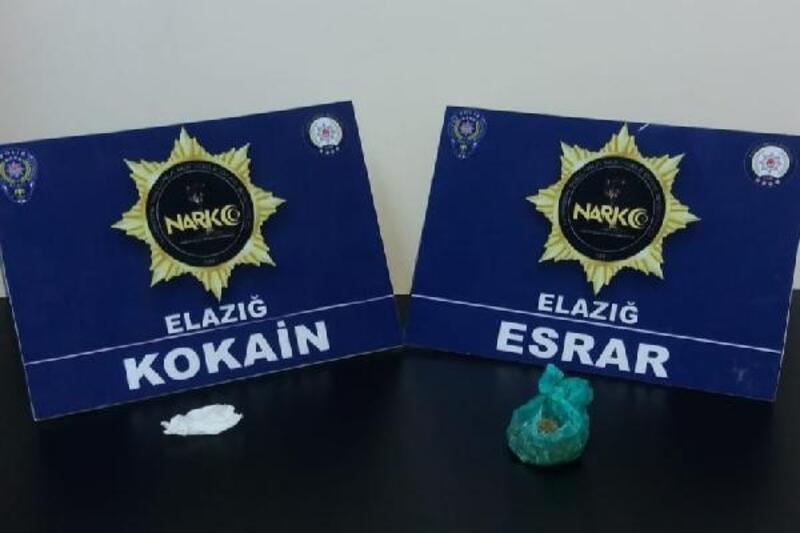 Elazığ'da 12 kişiye uyuşturucu madde kullanmaktan işlem yapıldı