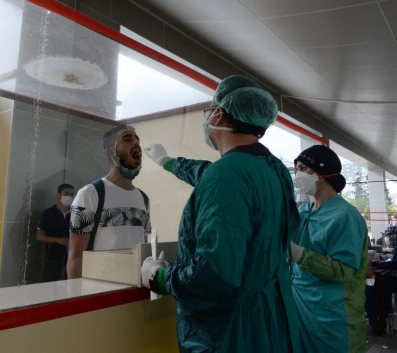 Asker adaylarına koronavirüs testi