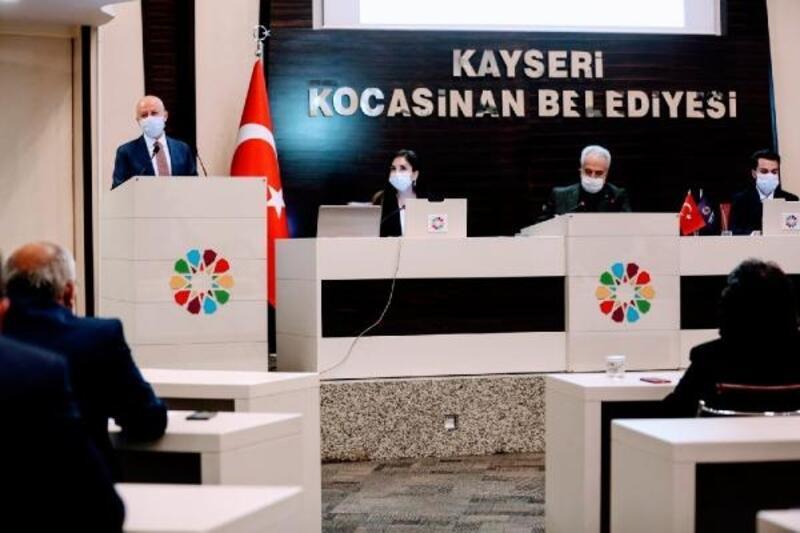 Kocasinan meclisi 24 gündem maddesini karara bağladı