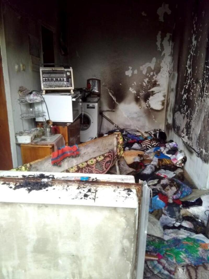 Evde mutfakta tüp patladı: 3 yaralı