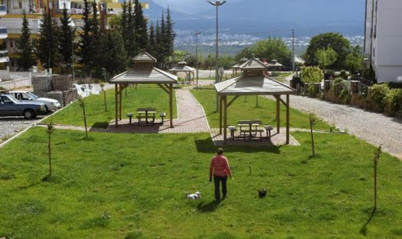 Çankaya'ya teras park