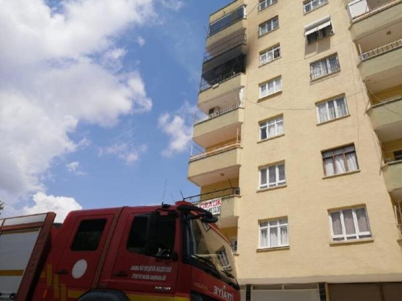 Kozan'da korkutan yangın