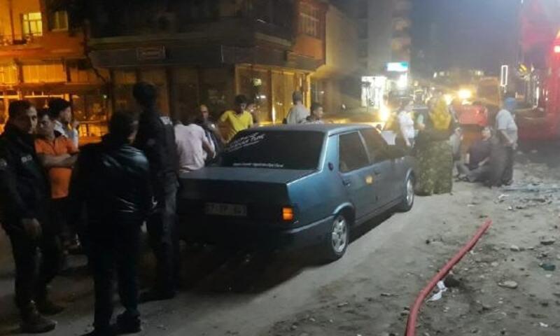 Kaçmaya çalışırken polis aracına çarpınca yakalandı
