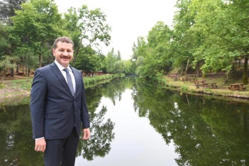 Balıkesir'de Değirmen Boğazı Tabiat Parkı yenilendi