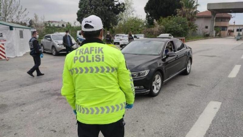 Kural ihlali yapan 328 sürücüye, 59 bin 292 lira ceza