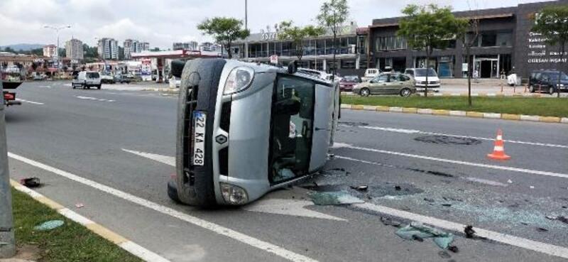 Ordu-Giresun yolunda kaza: 4 yaralı