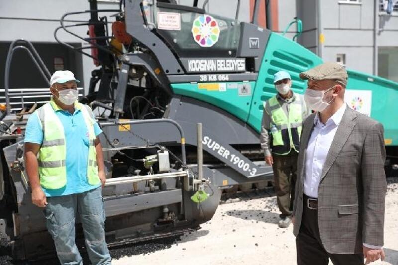 Başkan Çolakbayrakdar, yol yapım çalışmalarını inceledi