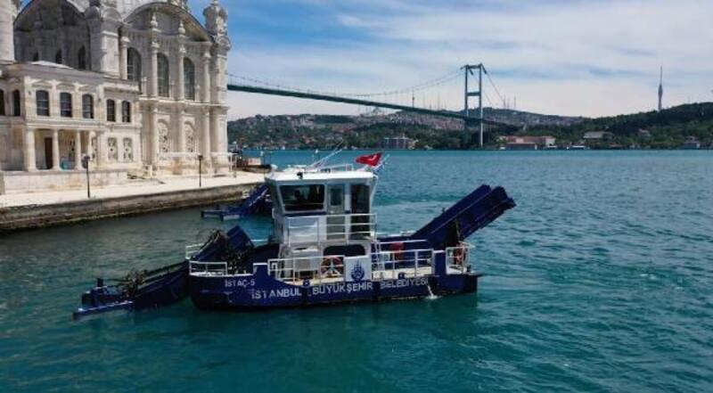 Beşiktaş sahilleri temizleniyor