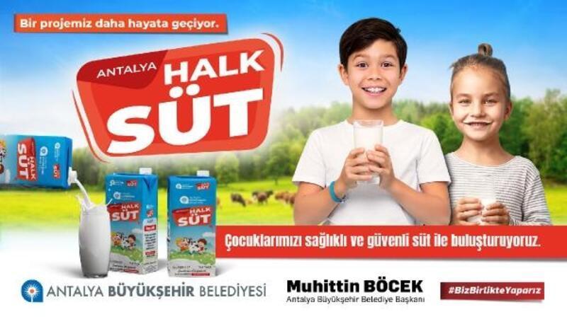 Büyükşehir'in Halk Süt Projesi Başlıyor