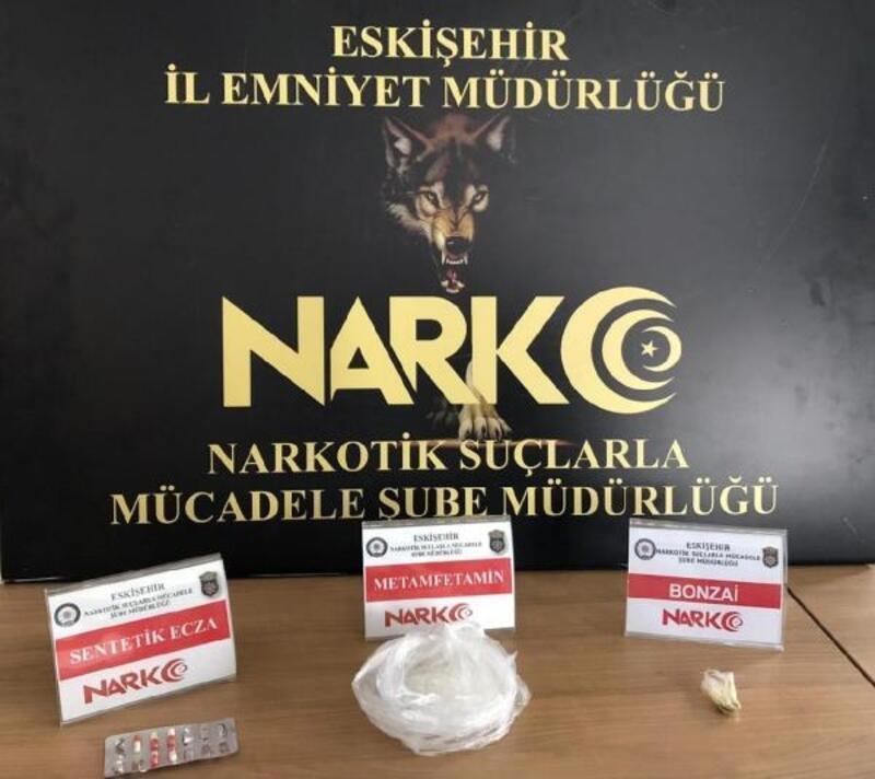 Eskişehir'de uyuşturucu şüphelisi tutuklandı