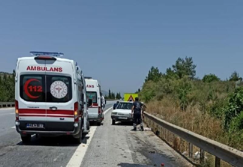 Tarsus'ta kaza: 7 yaralı
