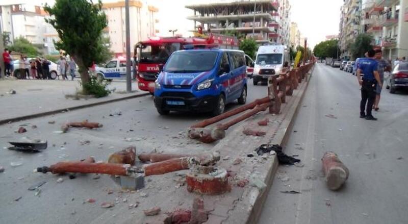 Kumluca'da kaza: 2 yaralı