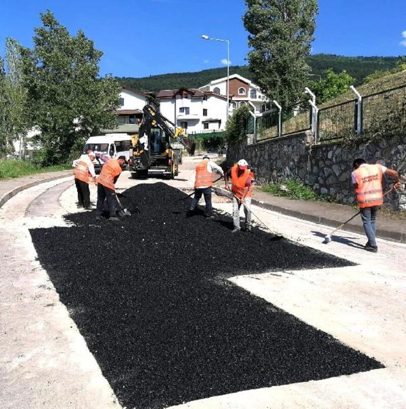 Osmangazi Belediyesi asfalt çalışmalarında hız kesmiyor