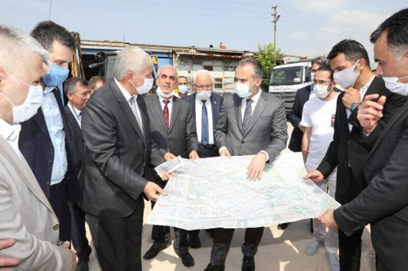 Bursa'nın altyapısı güçleniyor