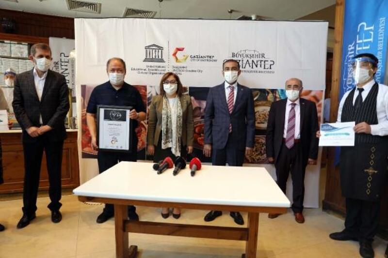 Gaziantep'te 'Fıstık gibi' sertifikaları dağıtılmaya devam ediyor