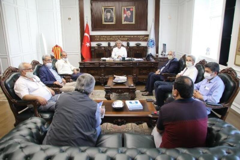 Battalgazi Muhtarlar Derneği'nden, Başkan Güder'e ziyaret