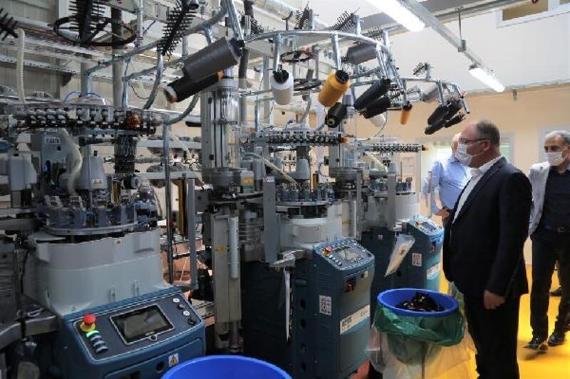 Başkan Bilgin'den fabrika ziyareti