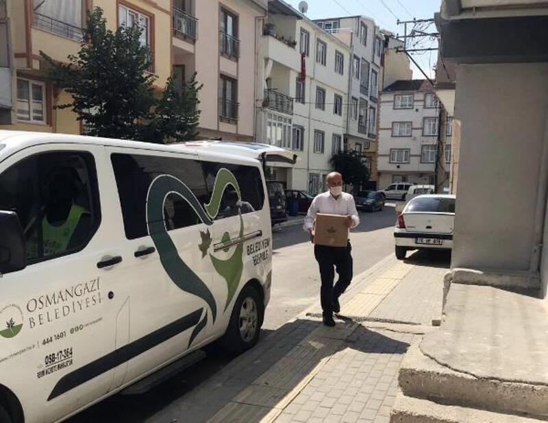 Osmangazi Belediyesi normalleşme sürecinde de desteklerini sürdürüyor