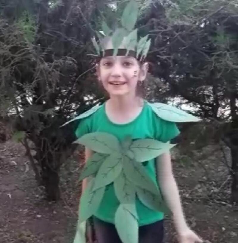 Çocuklardan 'doğayı koruyalım' klibi