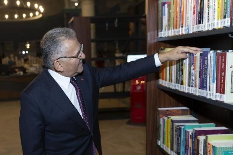 'Millet Bahçesine halk kütüphanesi yapılacak'