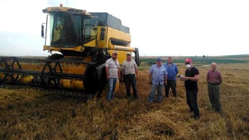 Kırklareli'nde arpa hasadı kontrolleri başladı