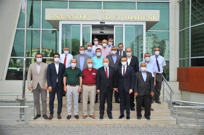 Vali Coşkun'dan İl Genel Meclisine veda ziyareti