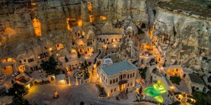 Kapadokya'da 'Güvenli Turizm Sertifikası' ilk otele verildi