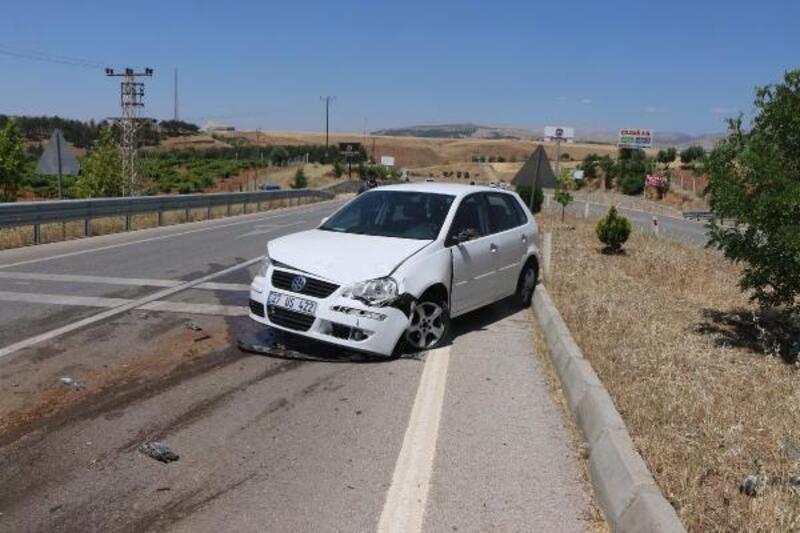 Adıyaman'da otomobil takla attı: 1 yaralı