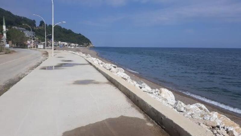 Bursa'da kış yorgunu sahiller yenilendi