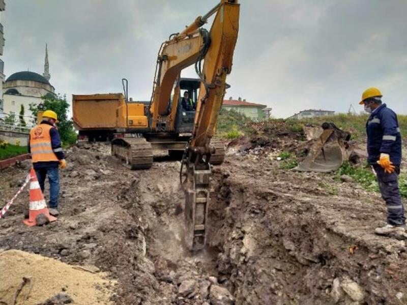 Başkent'te sağanak sonrası alt yapı çalışmaları sürüyor