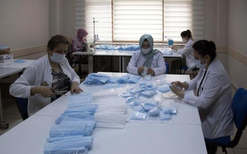 KAYMEK, 750 bin maske üretti