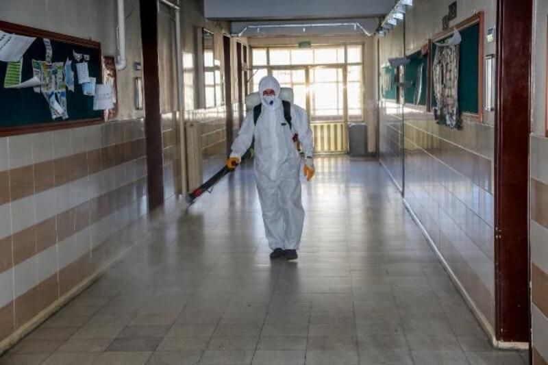 Meram Belediyesi, LGS için sınav merkezlerini hazırlıyor