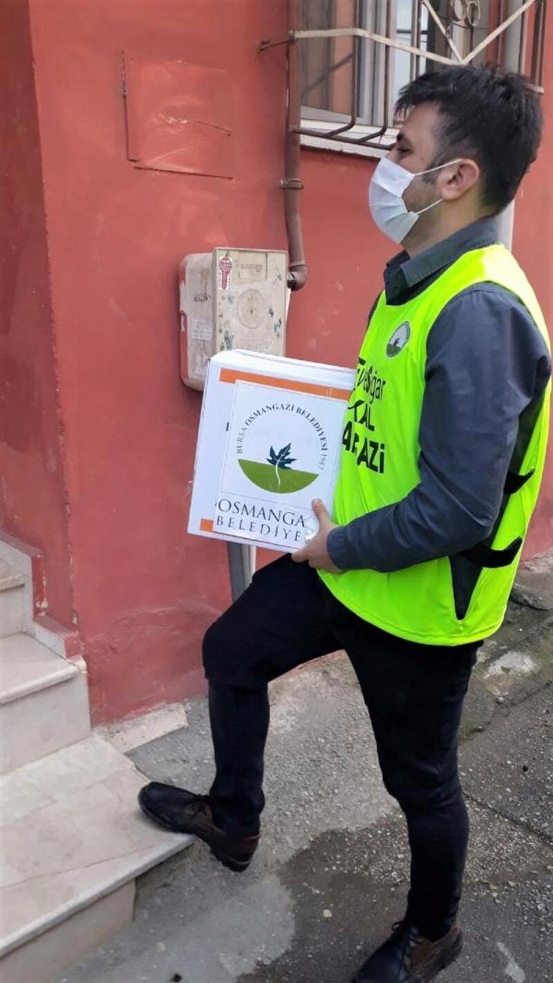 Osmangazi Belediyesi sosyal destek çalışmalarına devam ediyor