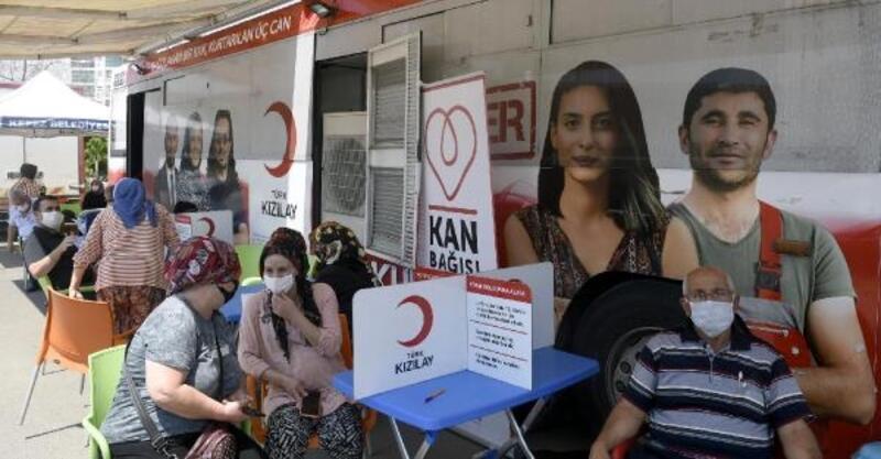 Kepez'de 'Kan ver can olsun' kampanyası start aldı