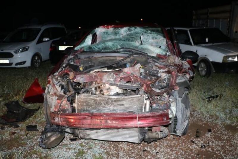 Sandıklı'da kaza: 2 yaralı