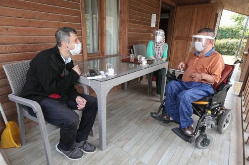 Engelli bireylere 'Bizim Bahçe'de tatil imkanı