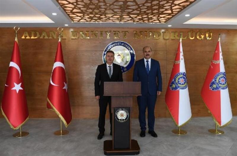 Vali Elban, İl Emniyet Müdürlüğü'nü ziyaret etti