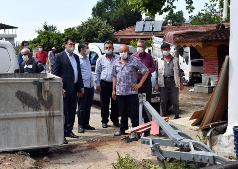 Osmangazi Belediye Başkanı Dündar'dan selin vurduğu Seçköy'e destek